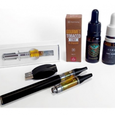 THC and CBD Vape oils and tinctures